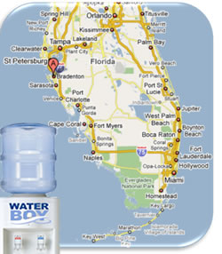 Water Boy Serviceability Map
